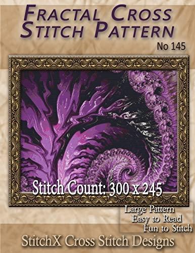 9781500572419: Fractal Cross Stitch Pattern No. 145