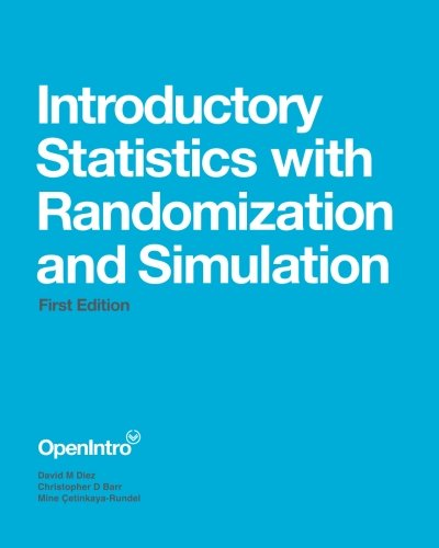 9781500576691: Introductory Statistics with Randomization and Simulation