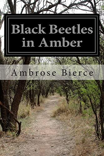 9781500583910: Black Beetles in Amber