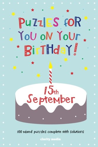 9781500597719: Puzzles for you on your Birthday - 15th September