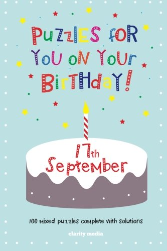 9781500597818: Puzzles for you on your Birthday - 17th September