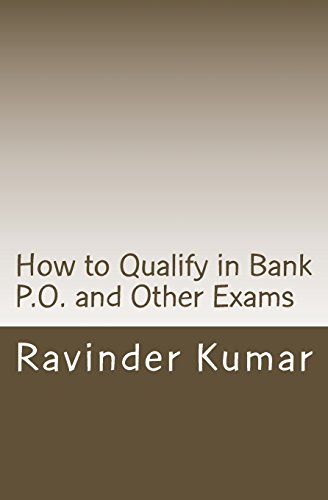 How to Qualify in Bank P.O. and: Kumar, MR Ravinder