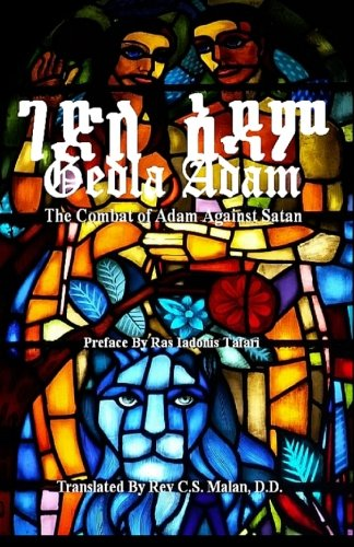 9781500632120: GEDLA ADAM: The Combat of Adam Against Satan; The Book of Adam & Eve