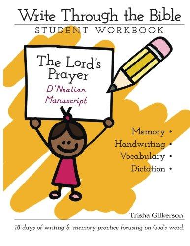 9781500648336: Write Through the Bible: The Lord's Prayer Manuscript