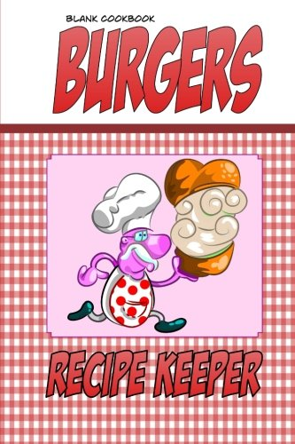 9781500666880 blank cookbook burgers blank recipe book recipe