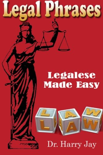 9781500669690: Legal Phrases: Legalese Made easy
