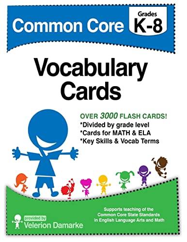 9781500674878: Common Core Vocabulary Cards
