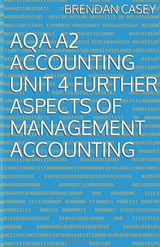 aqa as accounting student unit guide new edition unit 2 financial and management accounting harrison ian