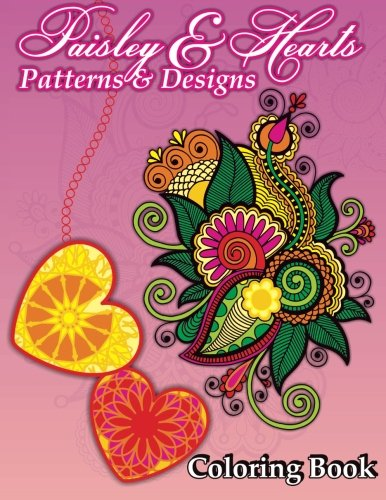 Paisley & Hearts Patterns and Designs Coloring: Lilt Kids Coloring