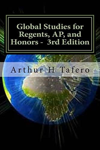Global Studies for Regents, AP, and Honors: Tafero, Arthur H