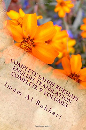 9781500730017: Complete Sahih Bukhari.English Translation Complete 9 Volumes