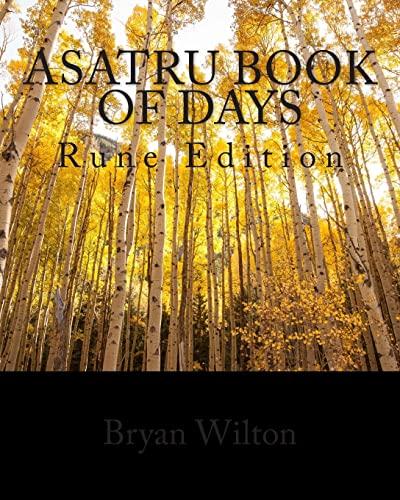 9781500805722: Asatru Book of Days: Rune Edition