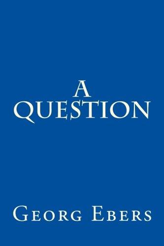 9781500813680: A Question