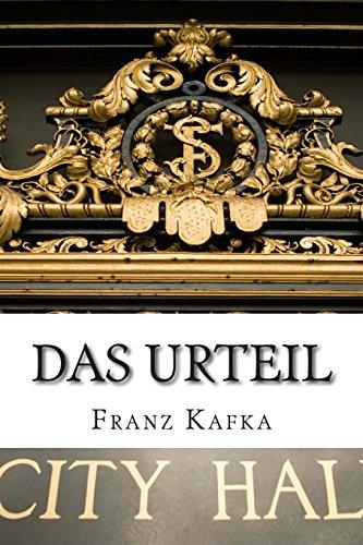 9781500830519: Das Urteil (German Edition)