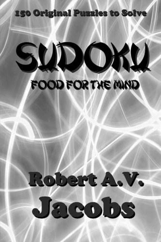 9781500832636: Sudoku, Food for the Mind: Monochrome Version