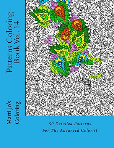 9781500833855: Patterns Coloring Book Vol. 14