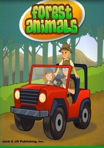 9781500840532: Forest Animals