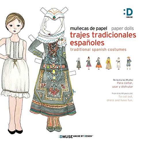 9781500841584: Munecas de papel - Paper dolls: Trajes Tradicionales Espanoles - Tradicional Spanish Costumes