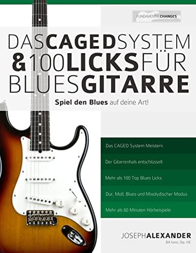 9781500875930: Das CAGED System und 100 Licks für Blues-Gitarre: Spiel den Blues auf deine Art!
