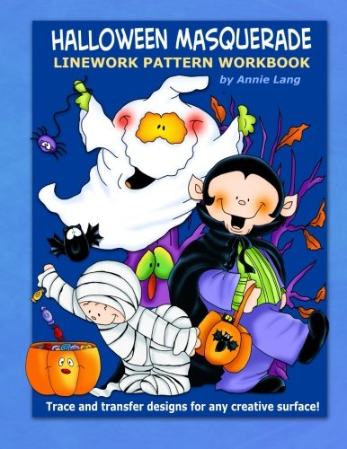9781500878436: Halloween Masquerade: Linework Pattern Workbook