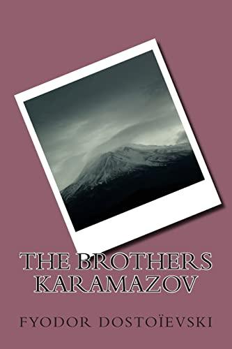 The Brothers Karamazov: Dostoievski, MR Fyodor