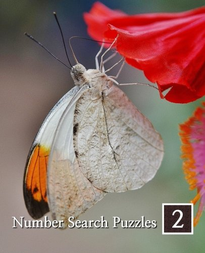 9781500888442: Number Search Puzzles 2: 100 Elegant Puzzles in Large Print (Volume 2)