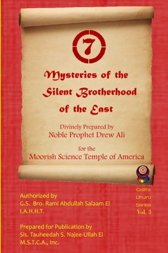 9781500888824: Mysteries of the Silent Brotherhood of the East: A.K.A. The Red Book/ Sincerity (Califa Uhuru) (Volume 3)