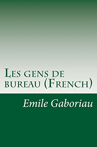 9781500897833: Les gens de bureau (French)
