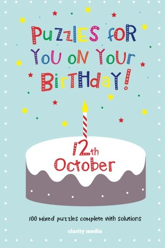 9781500902131: Puzzles for you on your Birthday - 12th October