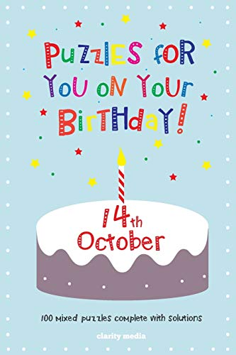 9781500902216: Puzzles for you on your Birthday - 14th October