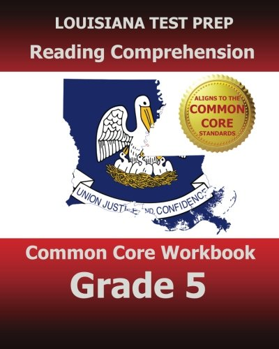 9781500911393: LOUISIANA TEST PREP Reading Comprehension Common Core Workbook Grade 5: Covers the Literature and Informational Text Reading Standards