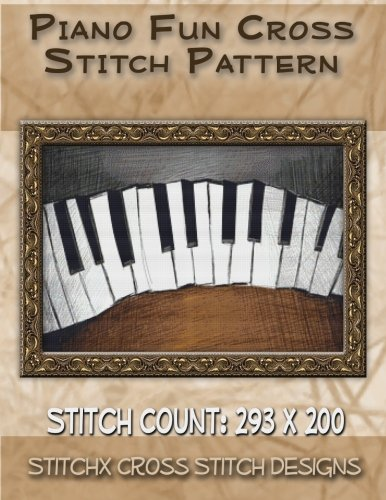 9781500912734: Piano Fun Cross Stitch Pattern