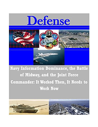 9781500926144: Navy Information Dominance, the Battle of Midway, and the Joint Force Commander: It Worked Then, It Needs to Work Now (Defense)