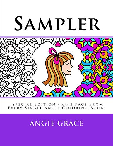 9781500929664: Sampler (Special Edition - One Page From Every Single Angie Coloring Book!)
