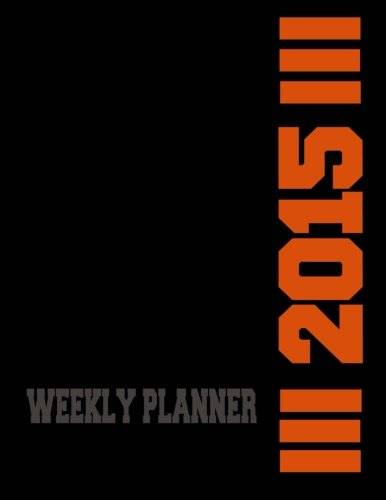 9781500948931: Weekly Planner 2015 (Diaries and Journals)