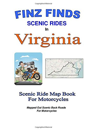 9781500952624: Finz Finds Scenic Rides In Virginia