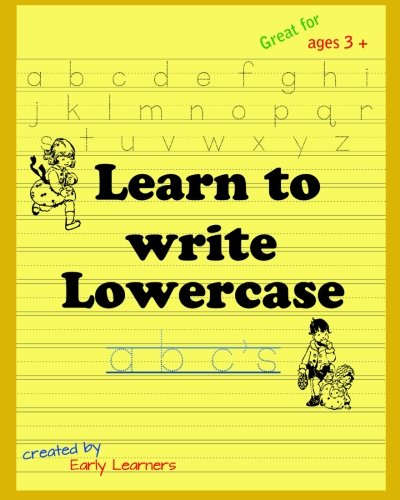 9781500967338: Learn to write lowercase