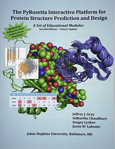 9781500968274: The PyRosetta Interactive Platform for Protein Structure Prediction and Design: A Set of Educational Modules