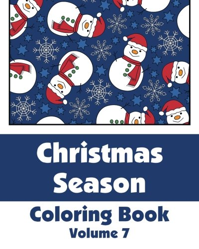 9781500988173: Christmas Season Coloring Book (Volume 7) (Art-Filled Fun Coloring Books)