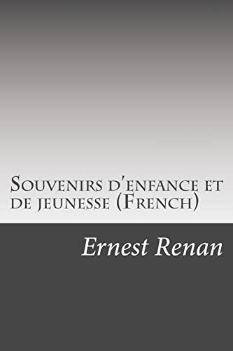 9781501008016: Souvenirs d'enfance et de jeunesse (French)