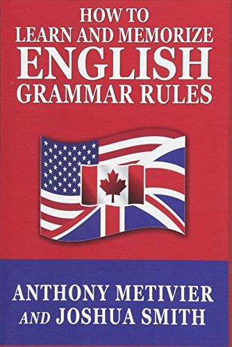 9781501039119: How to Learn and Memorize English Grammar Rules