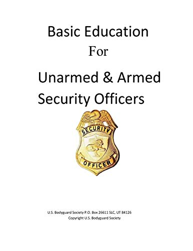 9781501042478: Basic Education For Unarmed & Armed Security Officers: Basic and Armed