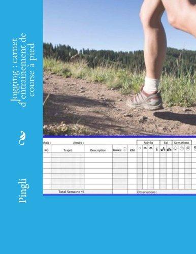 9781501052804: Jogging : carnet d'entrainement de course à pied