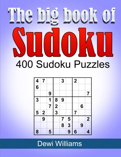 The Big Book of Sudoku: 400 Sudoku: Williams, MR Dewi