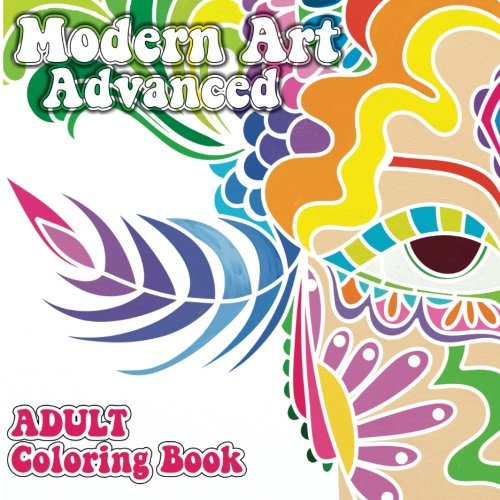 9781501071799: Modern Art Advanced Adult Coloring Book (Sacred Mandala Designs and Patterns Coloring Books for Adults) (Volume 22)