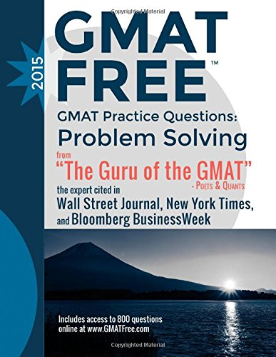 GMAT Practice Questions: Problem Solving: GMAT Free