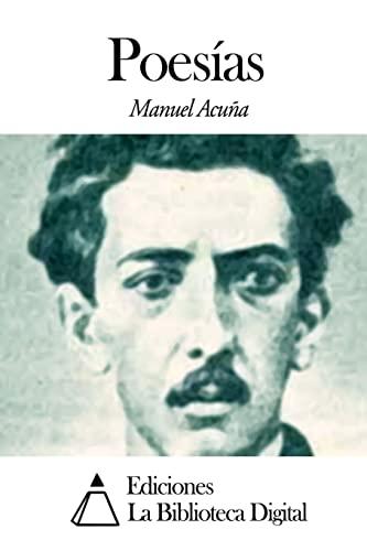 Poesias (Paperback): Manuel Acuna