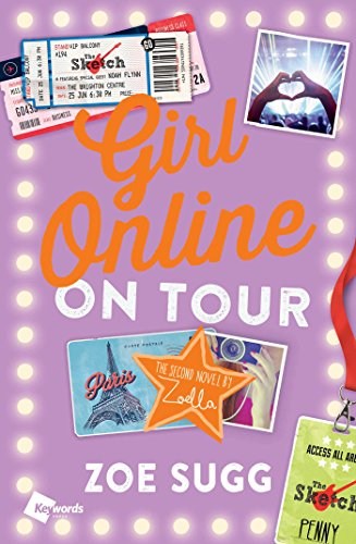 9781501100338: Girl Online: On Tour: The Second Novel by Zoella (Girl Online Book)