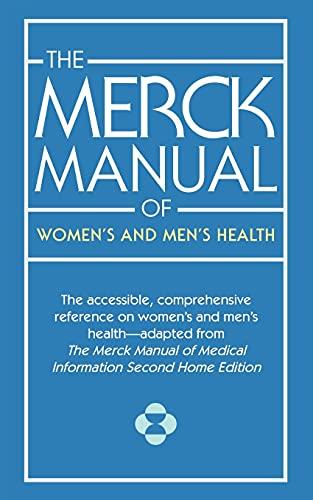 9781501104534: The Merck Manual of Women's and Men's Health