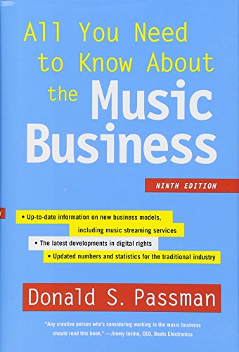 9781501104893: All You Need to Know About the Music Business: Ninth Edition